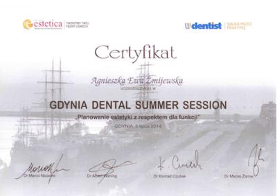 DENTYSTA Gdańsk CERTYFIKATskan13-1