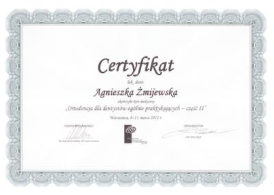 DENTYSTA Gdańsk CERTYFIKATskan3-1
