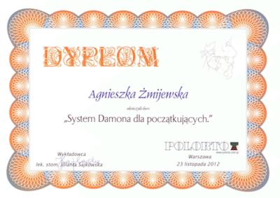 DENTYSTA Gdańsk CERTYFIKATskan5-1