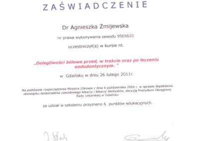 DENTYSTA Gdańsk CERTYFIKATskann19-1-1