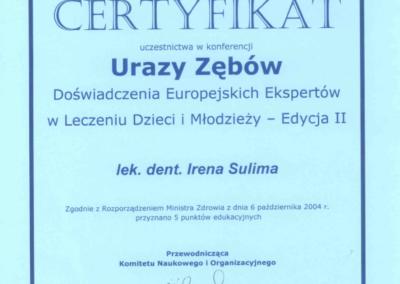 stomatolog Gdańsk CERTYFIKAT22