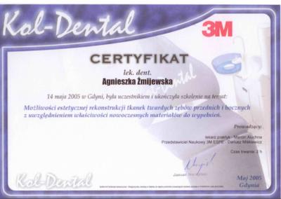 stomatolog Gdańsk CERTYFIKAT23