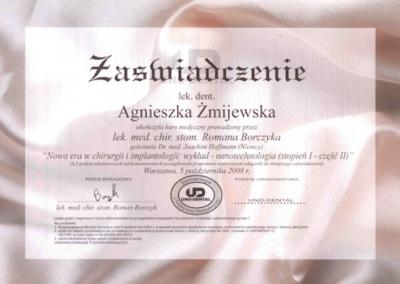 stomatolog Gdańsk CERTYFIKAT26