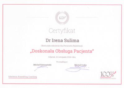 stomatolog Gdańsk CERTYFIKAT6